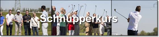 Kostenloser Golf Schnupperkurs - Logo