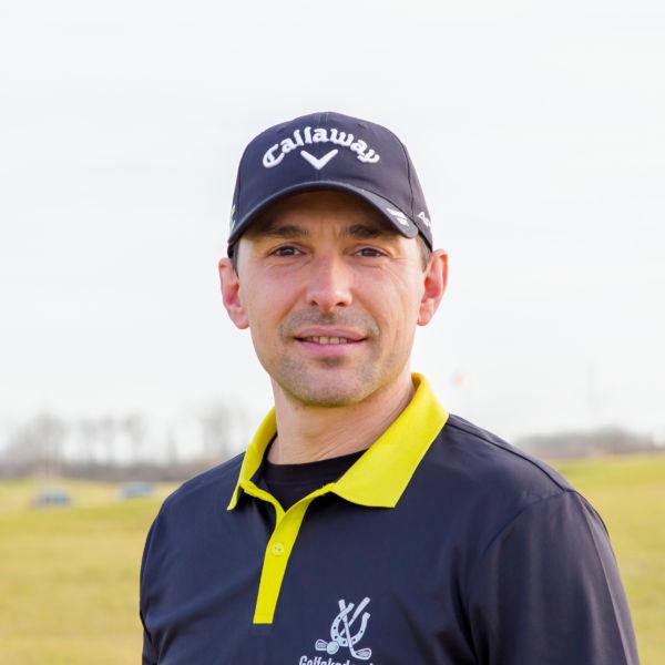 Golf-Pro Christoph Jungert