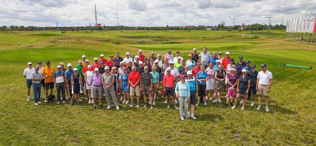 Teilnehmerfeld beim Preis des Präsidenten des Golfclub Halle 2021