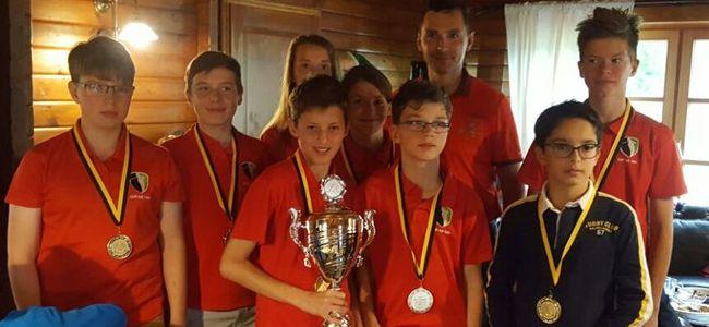 Das Team des GC Halle - Gewinner des Kindermannschaftspokal 2017