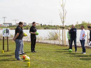 Einführung mit kleiner Regelkunde zum Fussballgolf