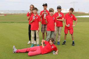 Das Team des GC Halle - Zweiter im Kindermannschaftspokal 2016
