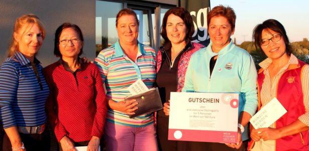 Gewinnerinnenfoto beim 1. Mitteldeutsche Ladies Cup 2020