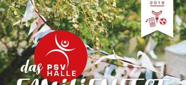 Einladung zum Familienfest des PSV Halle 2019