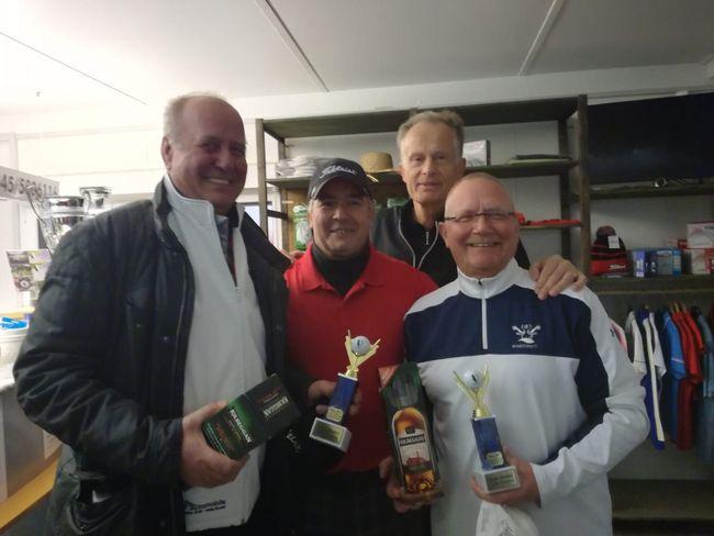 Gewinner Brutto 2018: Hans Trixl mit Lutz Lange