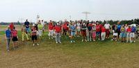 Teilnehmerfeld beim Preis des Präsidenten des Golfclub Halle 2020