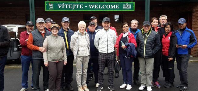 Gruppenfoto 2019 - Golfreise der Senioren nach Marienbad