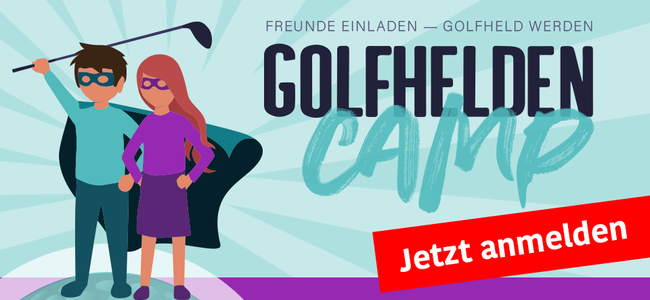 Golfhelden-Camp 2019 - Sei dabei!