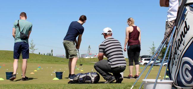 Einsteigerkurs an der Golfakademie Hufeisensee