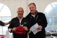 Nettosieger 2017 Roger Knispel mit Clubpräsident Francois Girard