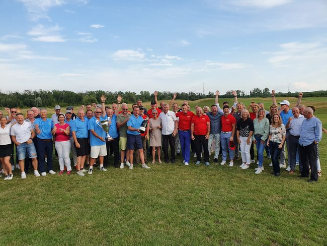 Siegermannschaft Ryder Cup 2021: Leipzig