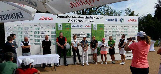 Siegerfoto der Deutschen Meisterschaft 2019 der Seniorinnen AK50/65