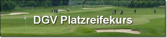 Golfakademie Hufeisensee DGV Platzreifekurs