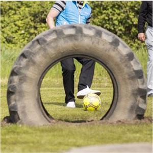 Fussballgolf Am Hufeisensee In Halle Golf Fur H Alle